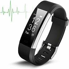 TechCode Fitness Tracker HR, Activity Tracker Uhr