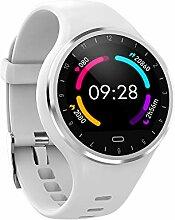 TechCode Fitness Uhr mit Pulsmesser, Bluetooth