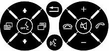 Techting Ersatz für Mercedes Matte Black Lenkrad