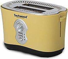 TECHWOOD Grill Brot 2Schlitze gelb, 850