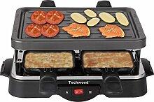 Techwood TRA-44 Raclette-Grill für 4 Personen