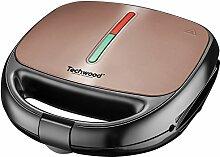 Techwood Waffeleisen/Sandwich/Grill, 800 W