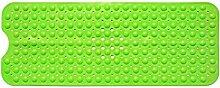 Teckpeak PVC Rutschfeste Badewanneneinlage Badewannenmatte Duschmatte Badematte mit Saugnäpfen[40 x 100cm]