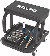 TECPO Werkstatt Rollsitz 125 kg Werkstatthocker
