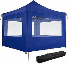 TecTake 800686 Aluminium Faltpavillon 3 x 3 m,