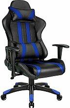 TecTake Bürostuhl Sportsitz Racing Gaming Stuhl