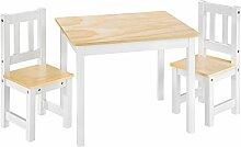 TecTake Kindersitzgruppe mit Kindertisch und 2