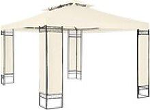 tectake Pavillon Luxus Gartenpavillon Leyla 390 x