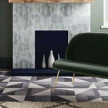 Ted Baker Wand- und Bodenfliese, matt, Grau, grau