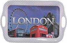 Ted Smith London Collage Melamin Tablett 39cm Geschenke, und, Karten, Weihnachten, Geschenk, Idee Anlass, Geschenk, Idee