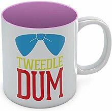 Tedle Dum Kaffeetasse, lustige Teetasse, beste