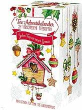 Tee-Advent-Kalender, Vogelhäuschen X-MAS