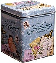 Tee-Box–Jardiniere–klassisch Französischer Retro-/Vintage-Stil–9,5cm