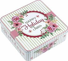 Tee Kaffee Container Square Candy Keks Mond Kuchen
