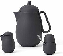 Tee-set Porzellan 3-teilig bestehend aus Designer