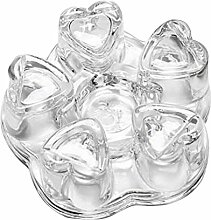 Tee Stövchen Hochtemperaturbeständige Kristall