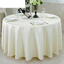 Tee Tischdecke,Tischdecke,Stoffe,Esstisch/Stoffe,Set/Runde Tischdecke,Europäisch,Tischdecke-B Durchmesser260cm(102inch)