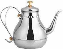 Tee Wasserkocher Edelstahl Teekanne Schwanenhals