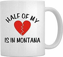 Teeburon HALF OF MY Montana - Tassen