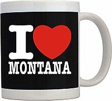 Teeburon I love Montana - Tassen
