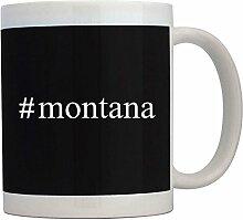 Teeburon Montana Hashtag - Tassen