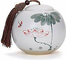 Teedose aus Keramik, für Gewürze, Süßigkeiten,