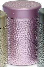 Teedose, Vorratsdose STONES PINK für 500g H. 19cm D. 11cm Eigenart (9,95 EUR / Stück)