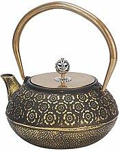Teekanne-1.2L Haushalt Mini Vintage Eisen Teekanne