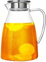 Teekanne, 2000 ml, Glas, kalt, großer