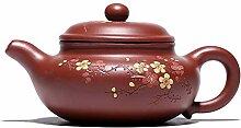 Teekanne 22,6 ml chinesische Yixing Zisha Ton