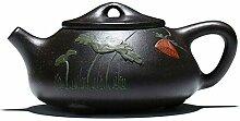 Teekanne, 227 ml, chinesischer Yixing, echter
