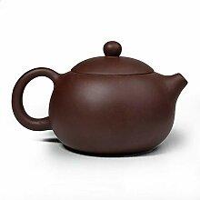Teekanne, 266 ml, chinesischer Yixing-Zisha-Ton,
