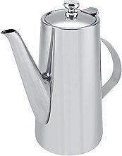 Teekanne, 2L eingedickte Edelstahl-Teekanne