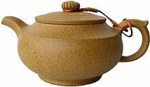 Teekanne, 313 ml, chinesische Yixing-Töpfe, gelbe