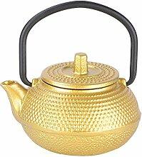 Teekanne, 50 ml Mini Gusseisen Teekanne mit
