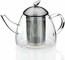 Teekanne Aurora aus Glas