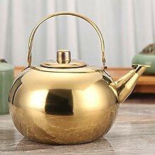 Teekanne aus Edelstahl, hohe