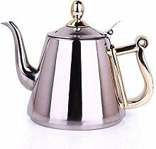 Teekanne aus Edelstahl Tea kettle 1,5 L