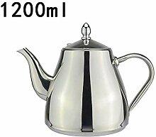 Teekanne aus Edelstahl Tea kettle 1200 ml