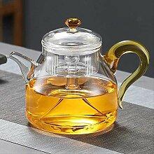Teekanne aus Glas mit großem Fassungsvermögen,