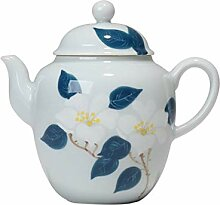 Teekanne aus Keramik, Kamelien-Teekanne,