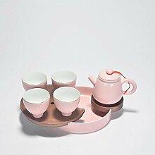 Teekanne Aus Keramik Kreative Rosa Porzellan
