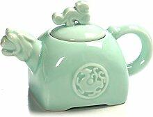 Teekanne Aus Keramik Kreative Tiger Kopf Keramik