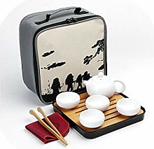 Teekanne aus Keramik mit chinesischem