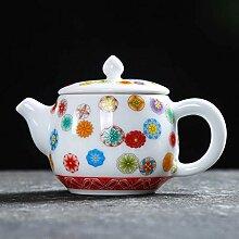 Teekanne aus Keramik Teekannen Porzellanteekanne