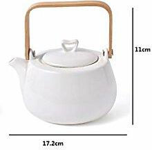 Teekanne aus Porzellan, japanischer Stil,