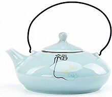 Teekanne Chinesische Zen Blessing Celadon