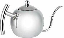 Teekanne, Edelstahl Kaffee Teekessel Kanne Kaffee