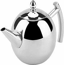 Teekanne, Edelstahl Teekanne Tee Kaffee