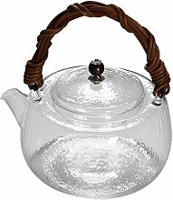 Teekanne für losen Tee, klares Glas, Teekessel